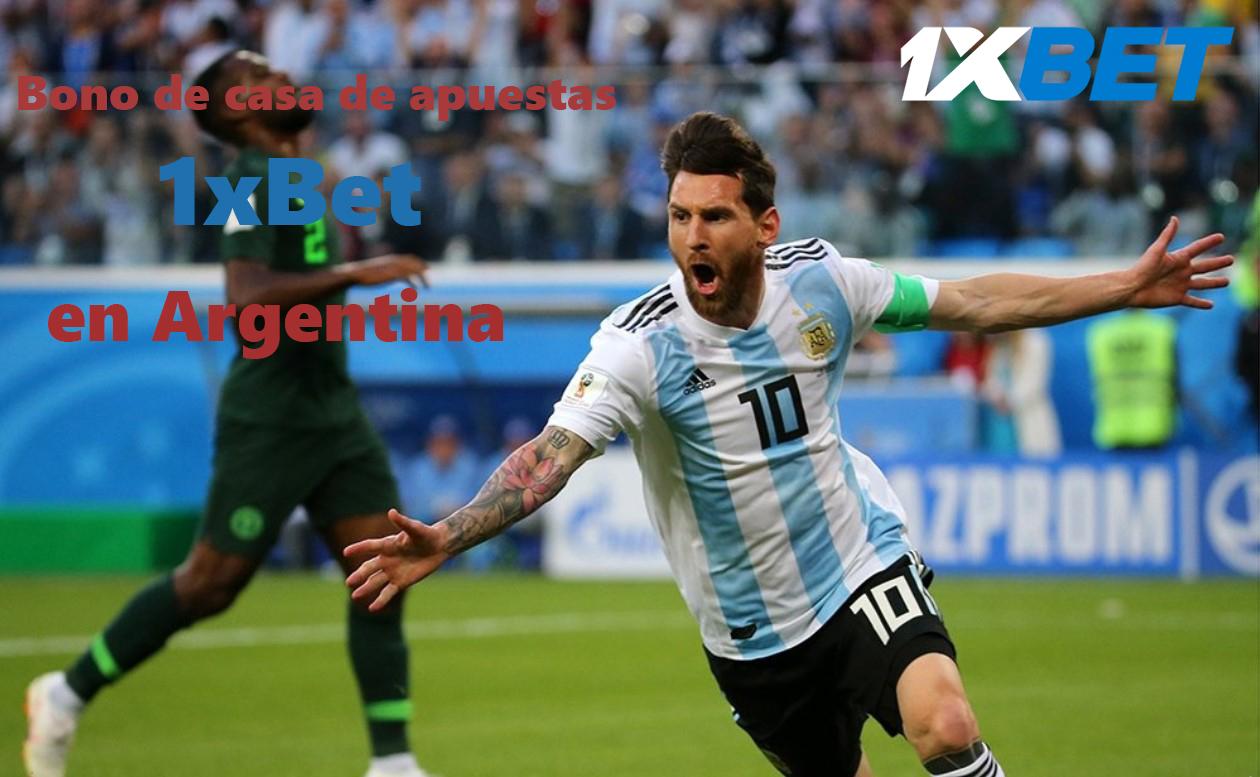bono 1xBet Argentina