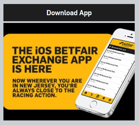 Betfair iOS app