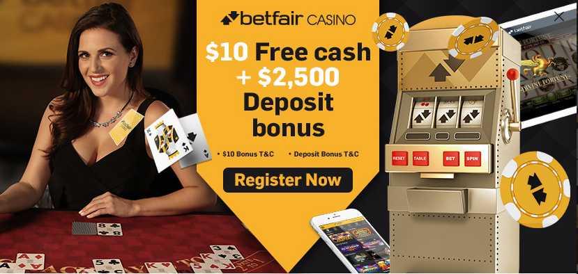 promo code Betfair casino