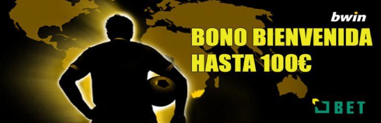 Bono bienvenida Bwin